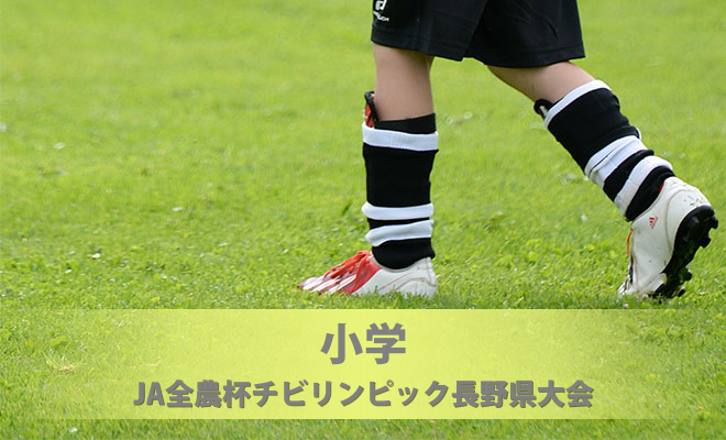 JA全農杯チビリンピック長野県大会(兼長野県U-11選手権大会)