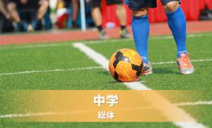 安曇野市・北安曇中学校体育連盟夏季大会サッカーの部《大会結果》