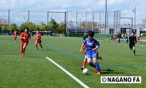 長野県女子U-15選手権予選リーグ《試合結果》