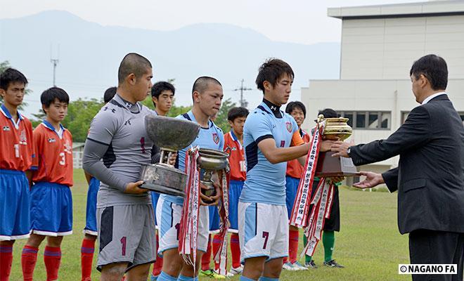 平成28年度 長野県高等学校総合体育大会サッカー競技大会1回戦《フォトギャラリー》