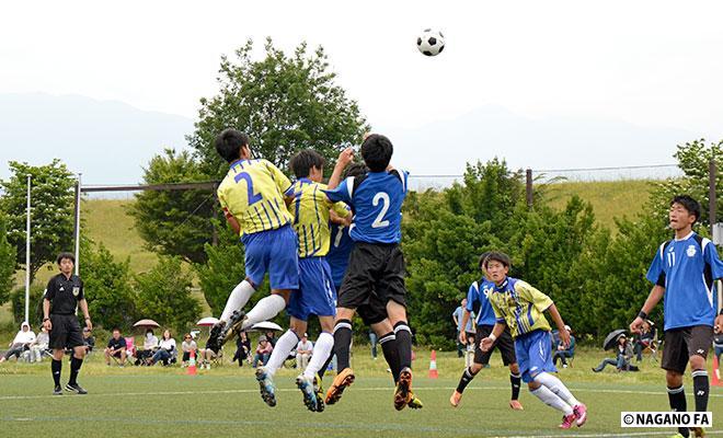 平成28年度 長野県高等学校総合体育大会サッカー競技大会1回戦 松本市サッカー場会場《試合結果》