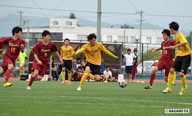 平成28年度 長野県高等学校総合体育大会サッカー競技大会1回戦 松商学園総合グラウンド会場《試合結果》