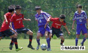 平成28年度 長野県高等学校総合体育大会サッカー競技大会2回戦《フォトギャラリー》