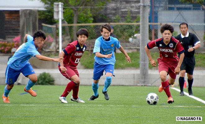 長野県高等学校総合体育大会サッカー競技大会準々決勝《フォトギャラリー》