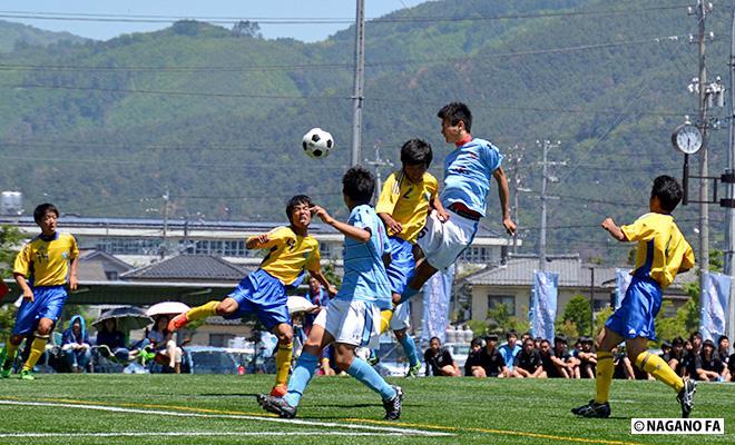 中信地区高等学校総合体育大会 準々決勝《試合結果》