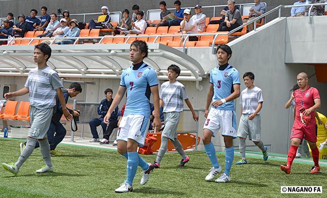 平成28年度 長野県高等学校総合体育大会(男子)準決勝第1試合《試合結果》