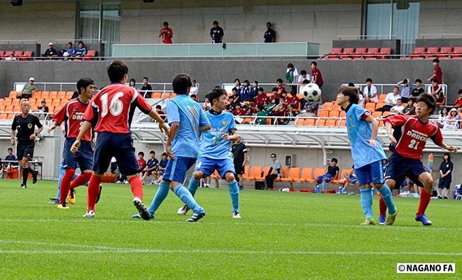 平成28年度 長野県高等学校総合体育大会(男子)準決勝第2試合《フォトギャラリー》