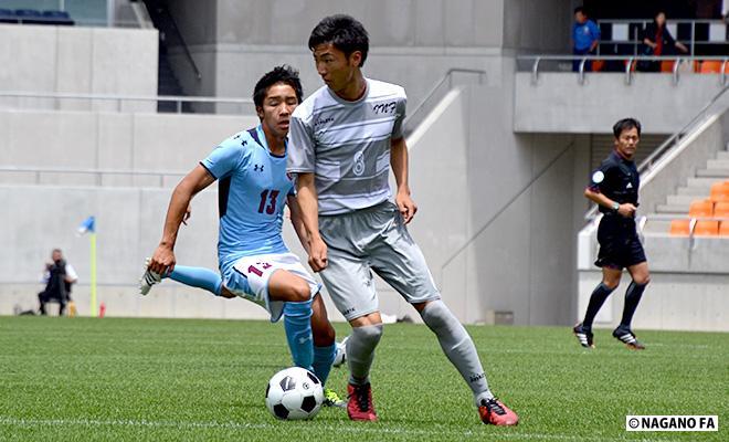 平成28年度 長野県高等学校総合体育大会(男子)準決勝第1試合《フォトギャラリー》