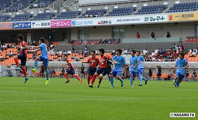 平成28年度 長野県高等学校総合体育大会(男子)準決勝第2試合《試合結果》