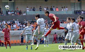 平成28年度 長野県高等学校総合体育大会サッカー競技大会(男子)決勝《試合結果》