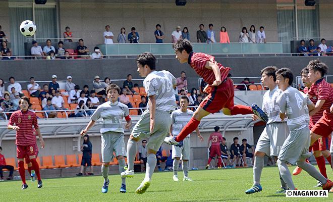 平成28年度 長野県高等学校総合体育大会サッカー競技大会(男子)決勝《フォトギャラリー》