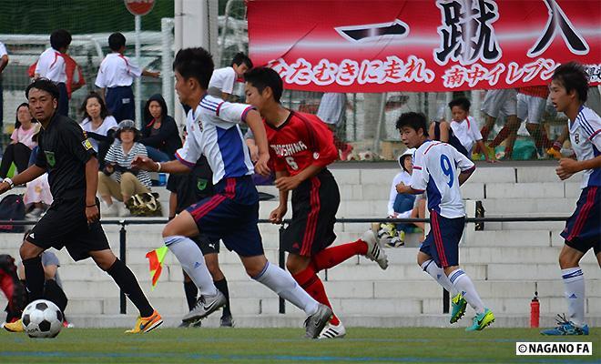 第55回県中学校総合体育大会夏季大会中信地区予選会《順位決定 試合結果》