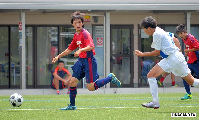 第55回県中学校総合体育大会夏季大会中信地区予選会《代表決定 試合結果》