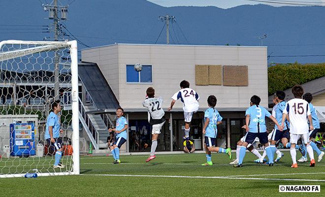 第23回長野県クラブチームサッカー選手権大会準々決勝《試合結果》