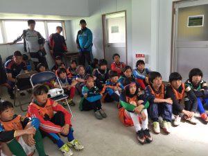 長野県U-12女子トレセン 第1回トレーニング 開催報告