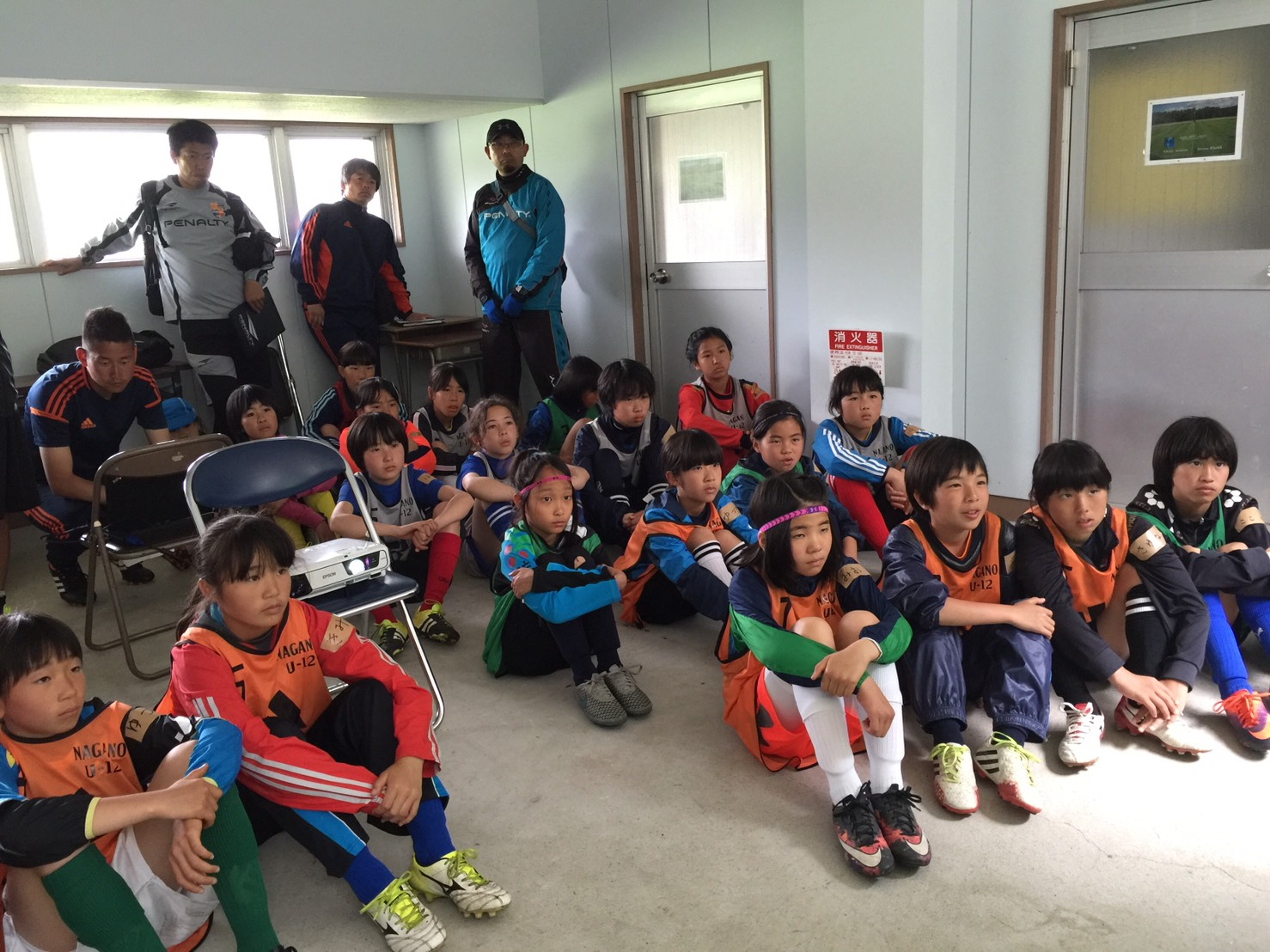 長野県U-12女子トレセン第2回トレーニング開催報告
