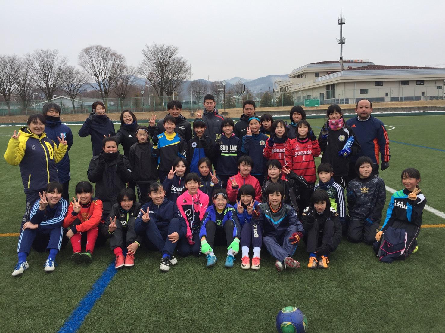 長野県U-12女子トレセントレーニング 開催報告